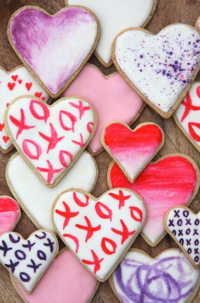 Photo of Heart Shaped Valentine's Day Cookies