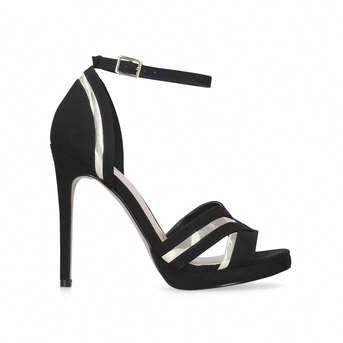 278db2f15e Laze Black High Heel Strappy Sandals from Carvela #Blackhighheels ...