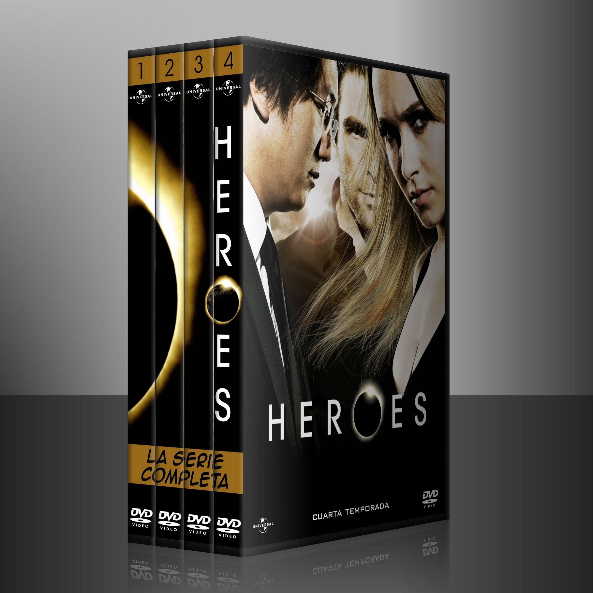HEROES (2006) (serie completa) /Director: Tim Kring (Creator), Greg ...