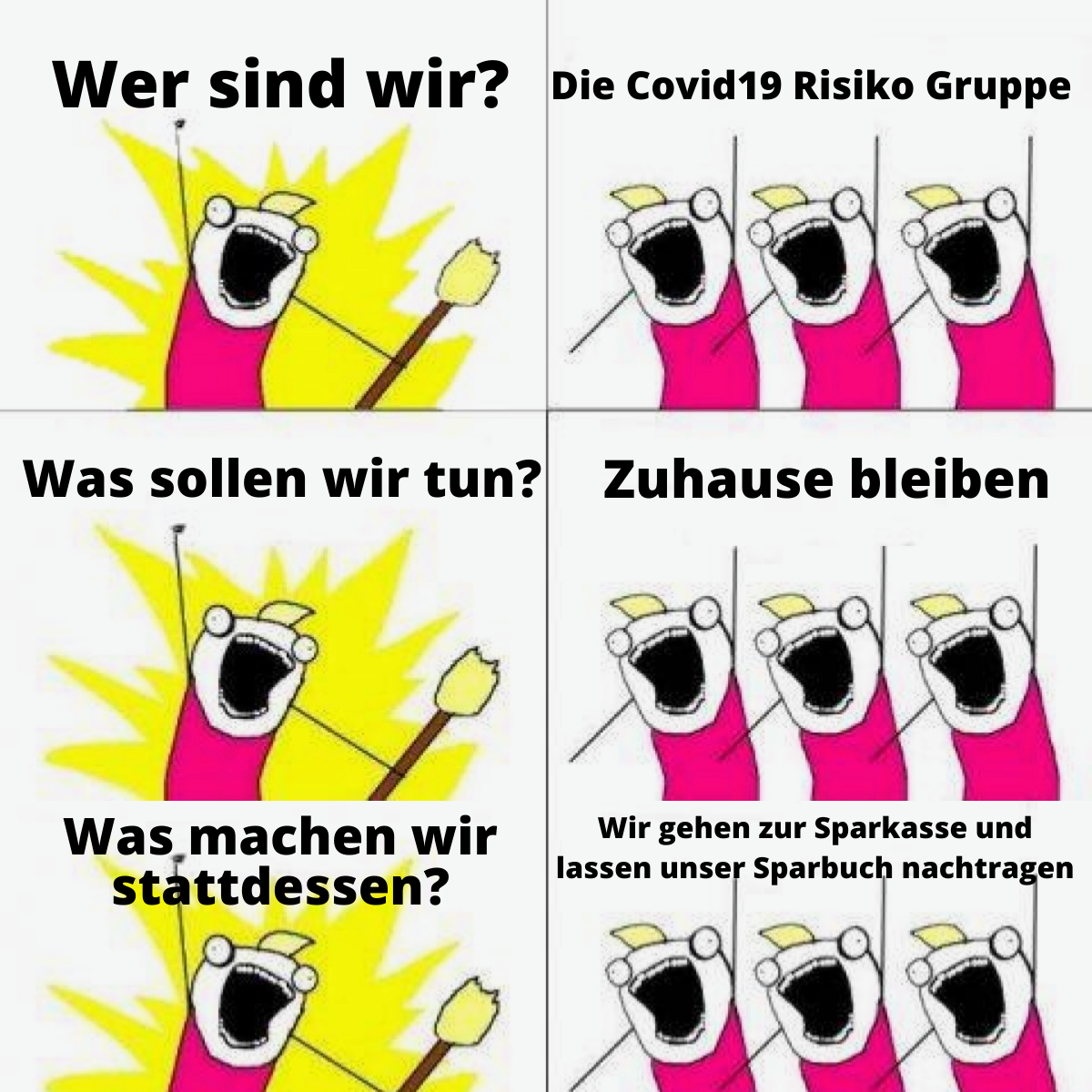 Corona Meme Deutsch