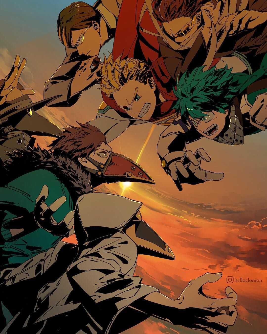 I M So Excited For My Hero Academia Season 4 Here S Something I Drew To Release Some Of The Hype Inside Me The V Hero Wallpaper My Hero Boku No Hero Academia