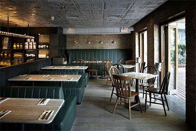 Matto Pizzeria, Shanghi. Interior Design By Darryl Goveas.
