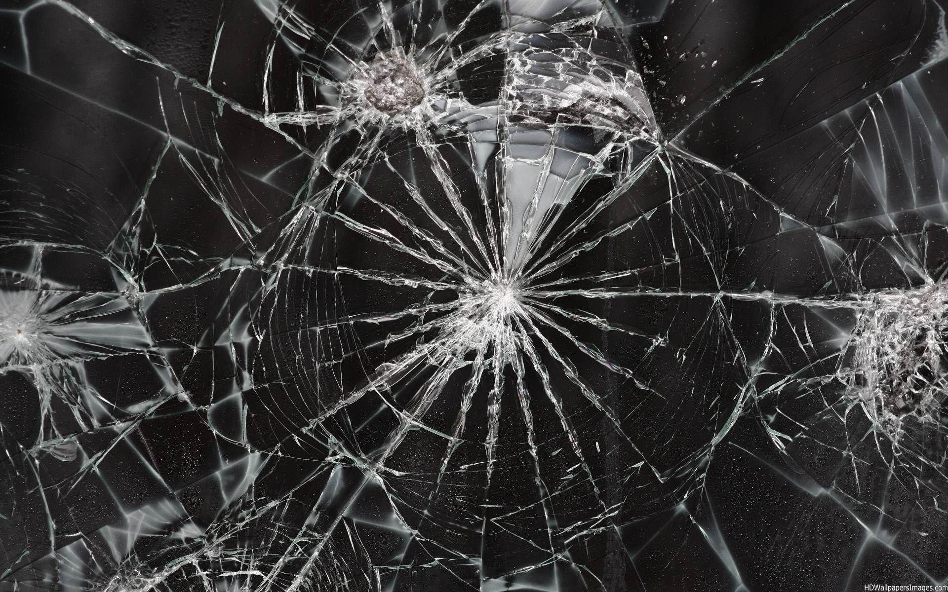 Картинка с разбитым экраном