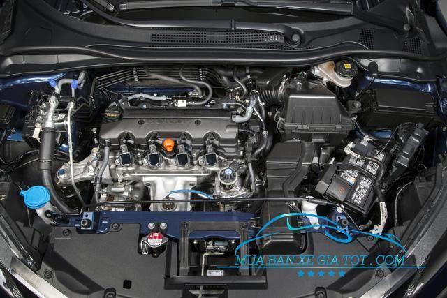 Mẫu xe Honda HR-V 2017 được trang bị động cơ 1,8 lít 4 xi-lanh với công suất 141 mã lực