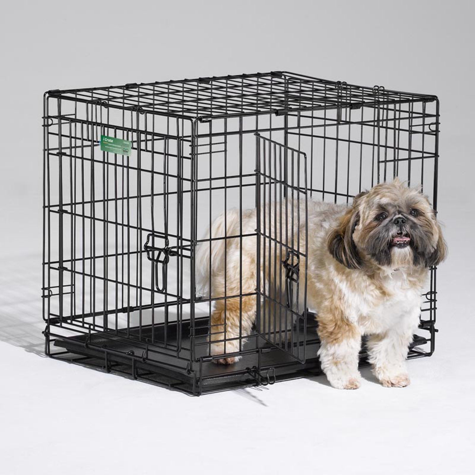 Midwest Homes For Pets Icrate Folding Double Door Metal Dog Crate