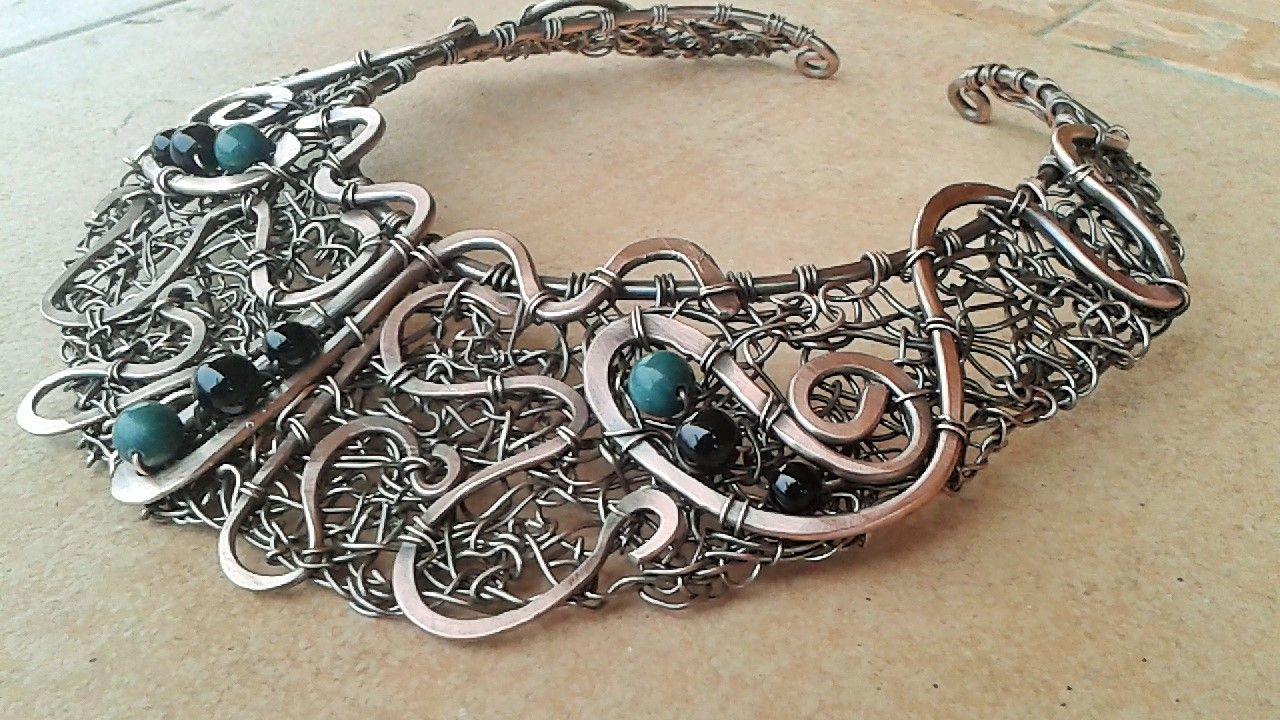 Pin von Time & Again Designs auf wired up collars   Pinterest