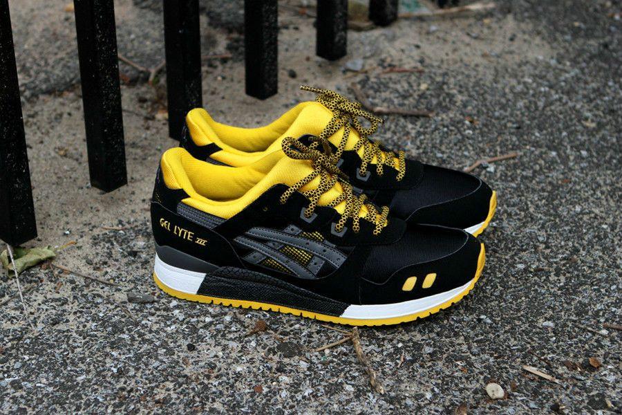 ASICS GEL-Lyte III - Black/Yellow