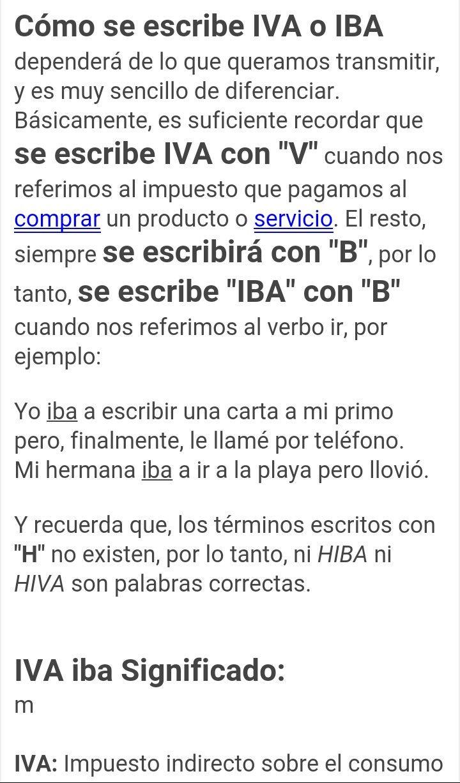 Iva Iba Info Iva