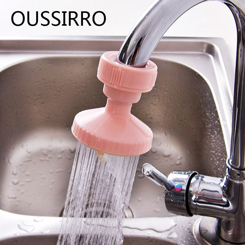 Shower Head Spray Nozzle Adjustable Kitchen Bathroom Water Tap
