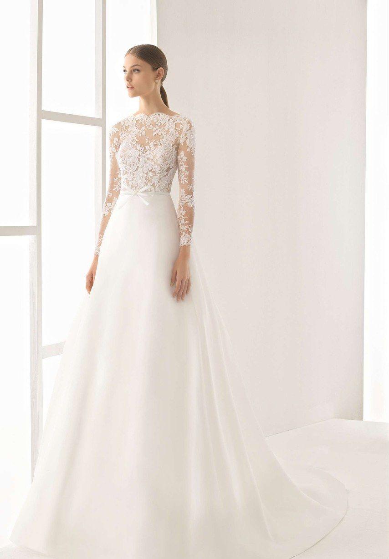 Sheer long sleeve wedding dresses   Tasteful Illusion Wedding Dresses For Daring  Wedding dress