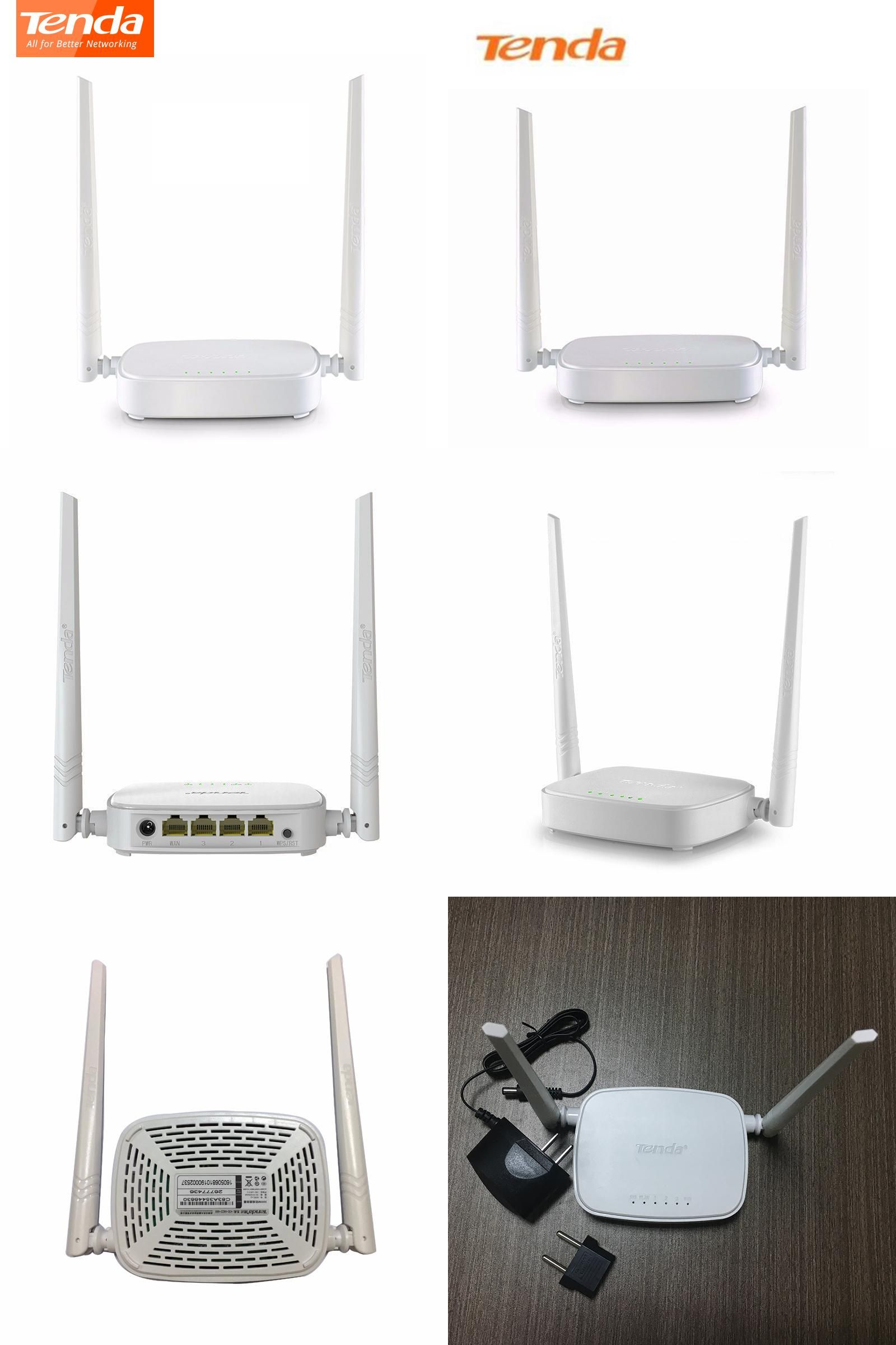 Visit To Buy Tenda N301 300mbps Wireless Wifi Routerwifi Repeater Wireles Router 4port 2 Antena 4