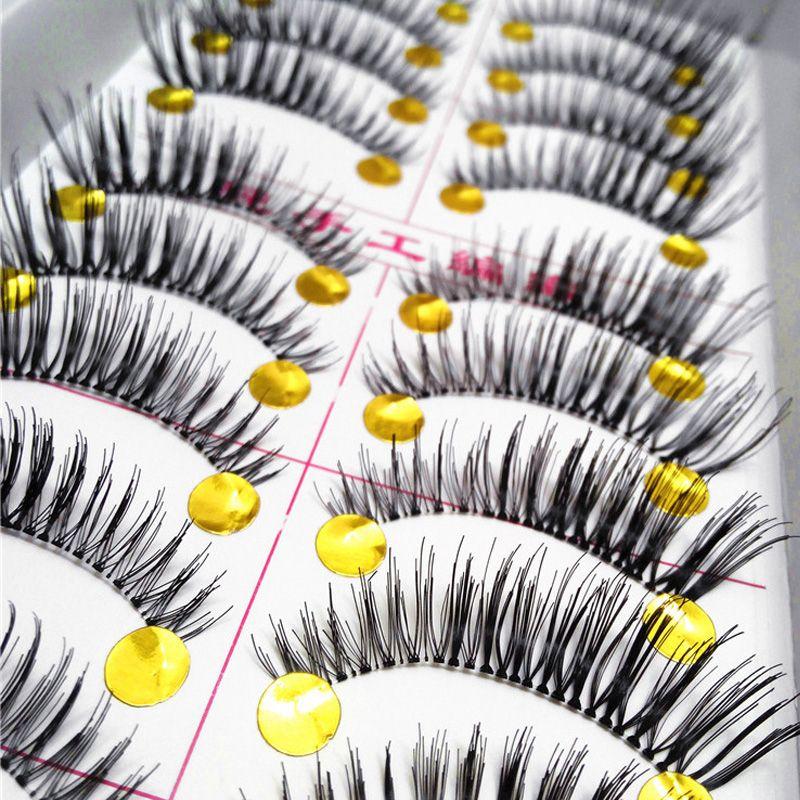 40pairs Natural Charming Individual Eyelashes False Eyelashes Makeup