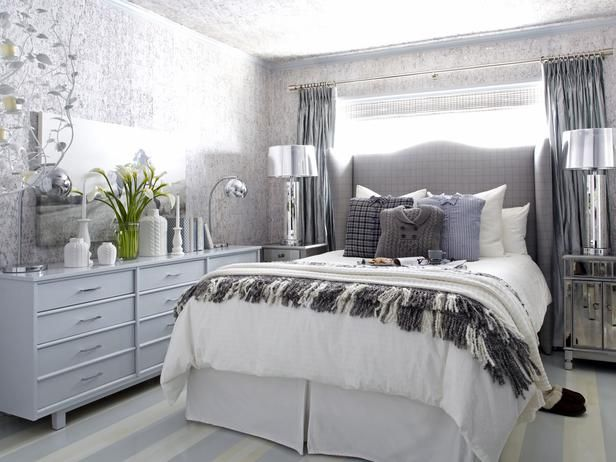 A Sophisticated Bedroom Fit For Winter Guests Decorating Home Garden Television Bedroom Furniture Placement Sophisticated Bedroom Small Bedroom Furniture