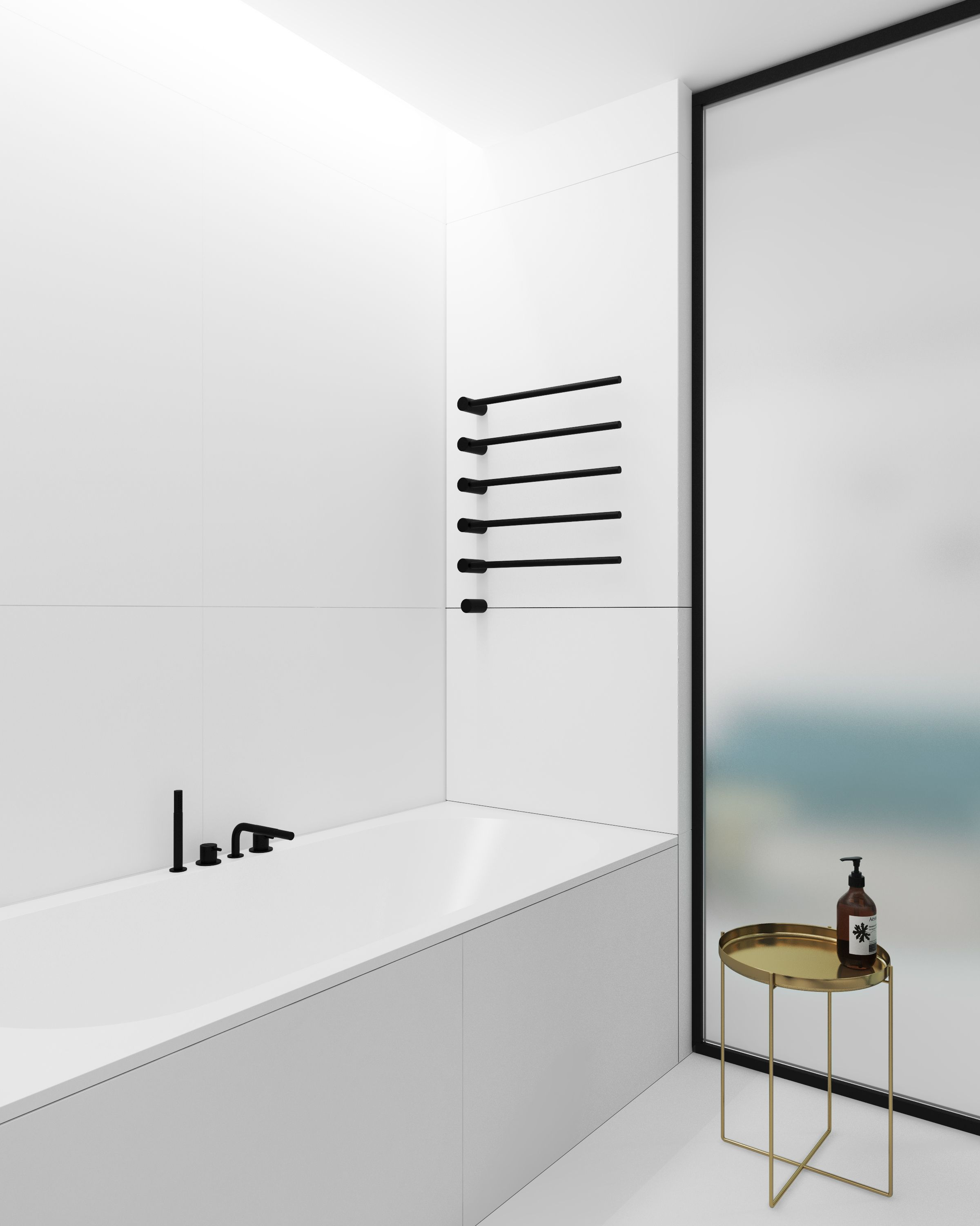 mproject | apt 1 bathroom/tile | Pinterest | Bathroom tiling
