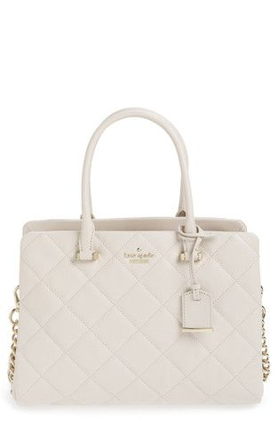 'Emerson Place - Olivera' Quilted Leather Satchel LAVELIQ