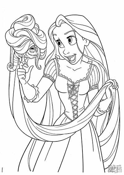 170 Free Tangled Coloring Pages Rapunzel Coloring Pages Tangled Coloring Pages Cartoon Coloring Pages