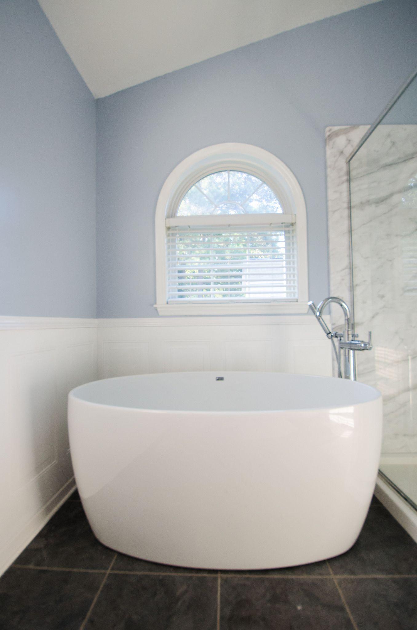 JB515- After-1   Re-Bath Remodels   Pinterest   Wainscoting bathroom ...