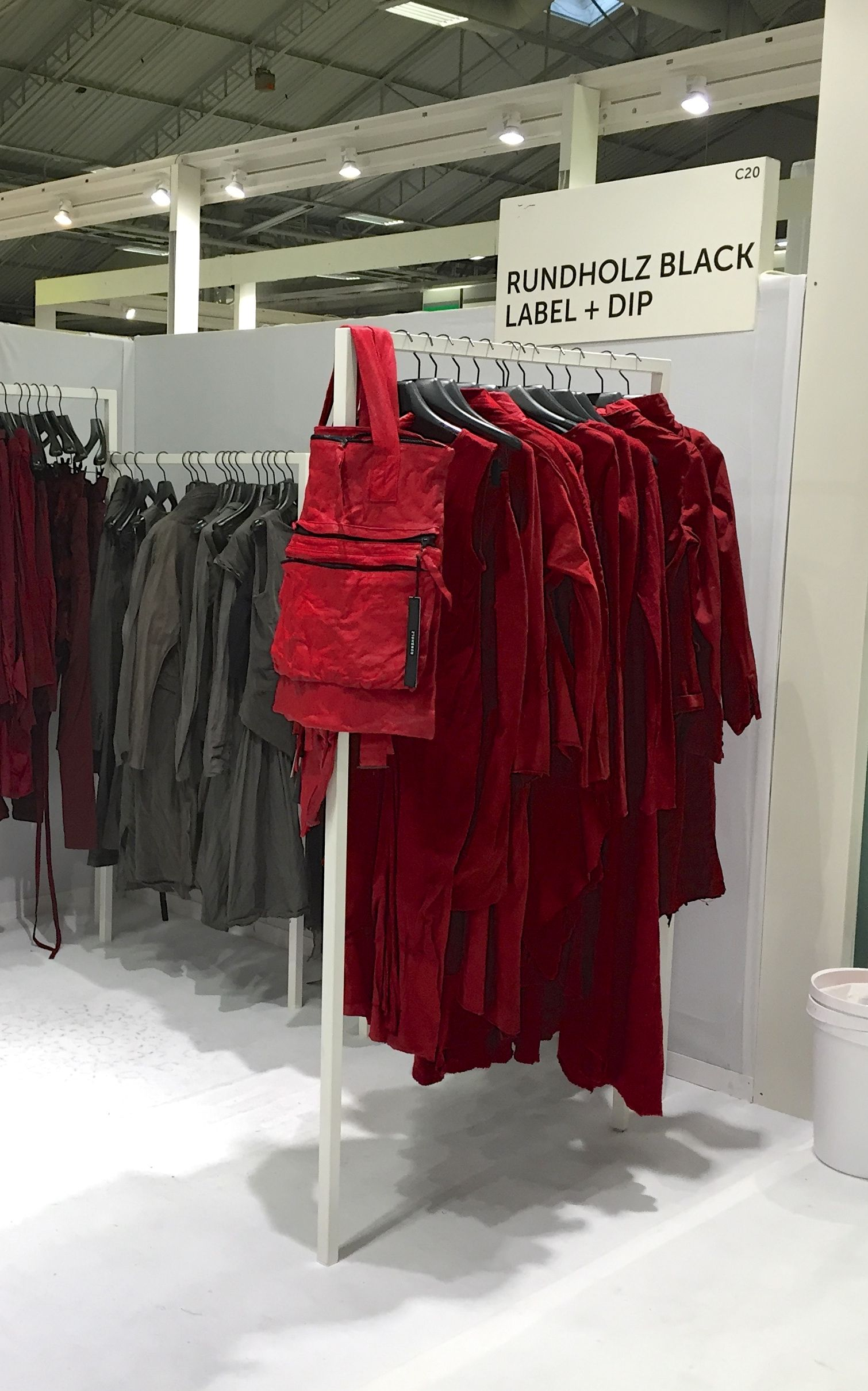 Red flannel inn paradise mi  Rundholz Black Label and DIP booth in Paris  we loved the red for