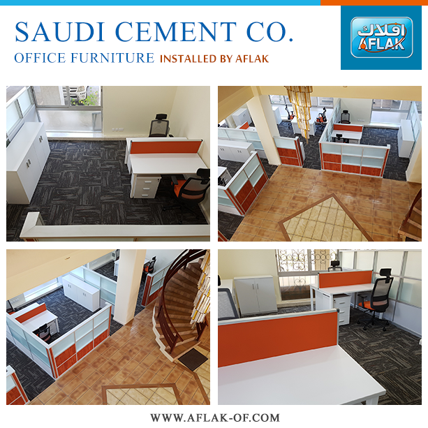 #OfficeFurniture Installation At #Saudi #Cement Co. Call