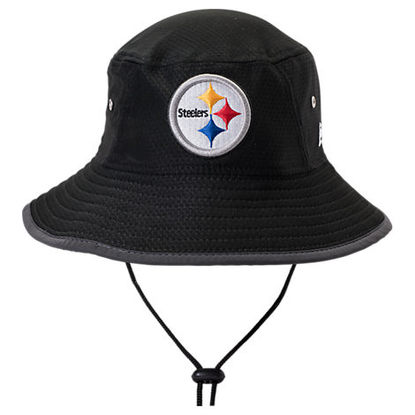 New Era Pittsburgh Steelers NFL Training Bucket Hat  42139e099
