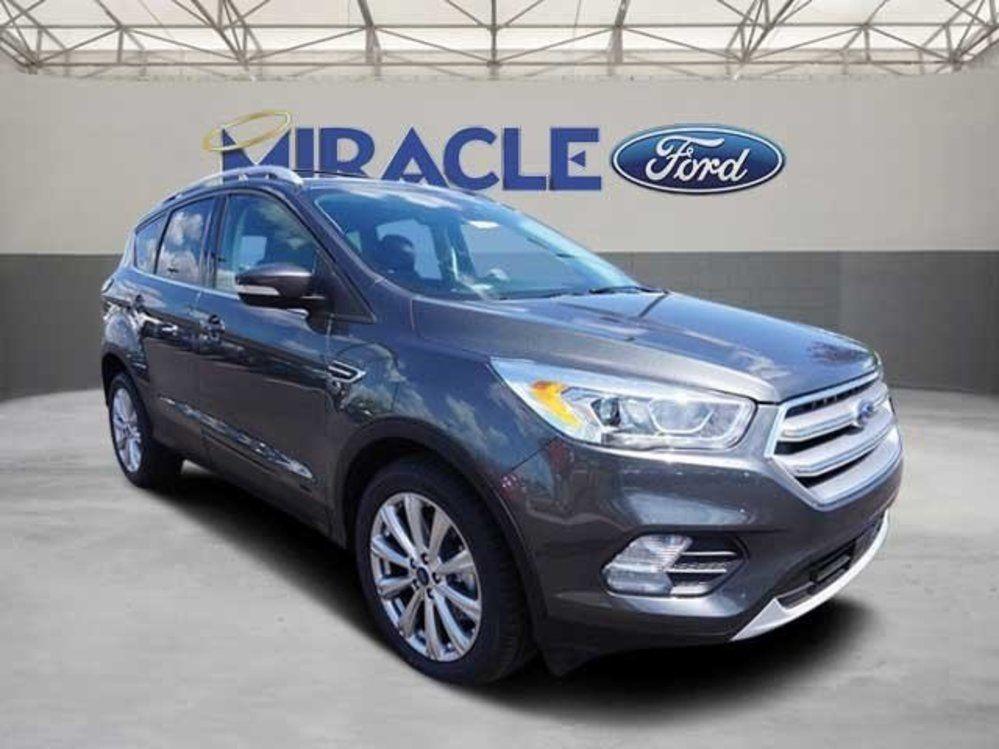 New 2017 Ford Escape Titanium Ford escape, 2017 ford
