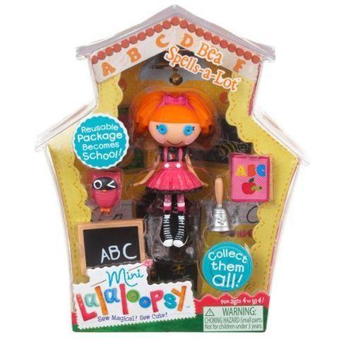 Mini Lalaloopsy Bea Spells A Lot Series 1 Lalaloopsy Lalaloopsy Mini Lalaloopsy Dolls