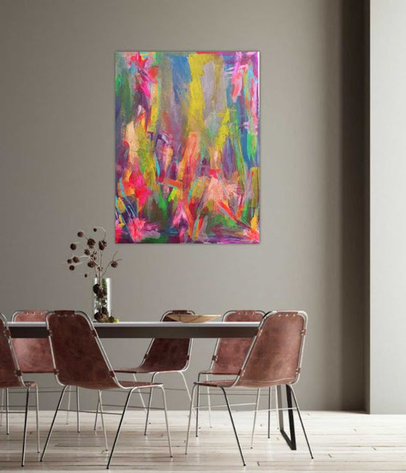 Two Painting Prints Not Just 1 Digital Download Art Etsy Modern Art Prints Original Art Painting Affordable Paintings