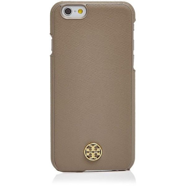 Tory Burch Robinson Hardshell iPhone 6 Case ($65) ❤ liked on Polyvore  featuring accessories