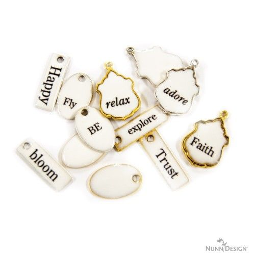 Make These Great Faux French Enamel Tags