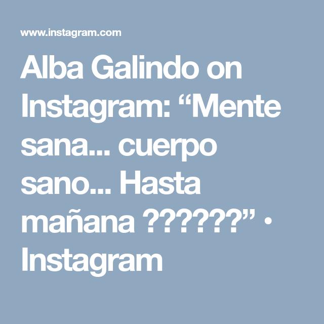 Alba galindo instagram