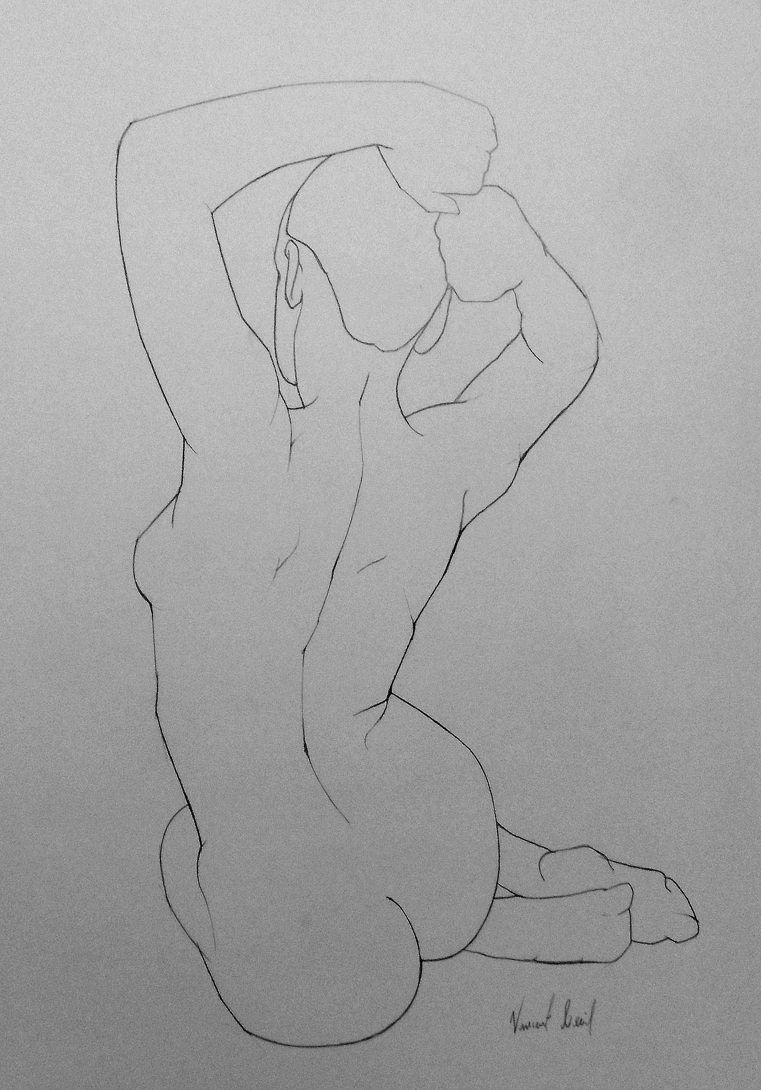 life drawing - seated figure | Art | Pinterest | Anatomía, Femenino ...