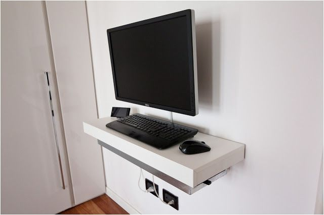 Ludvig Wall Mounted Computer Desk Wall Mounted Desk Ikea Desk