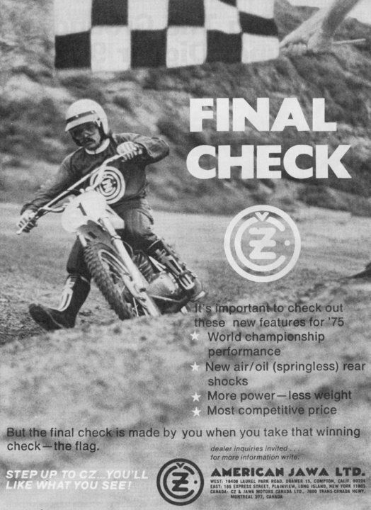 1974 CZ ad