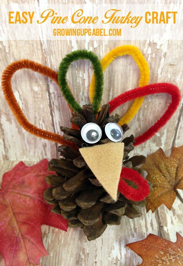 You only need a few basic craft supplies to make this easy for Dekor turkey