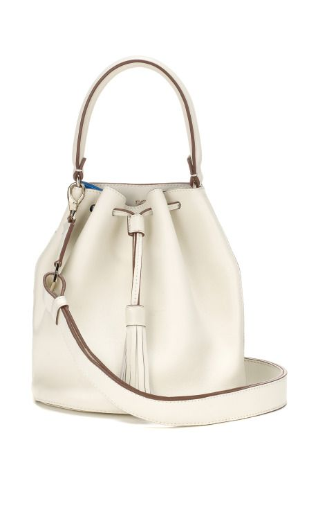 Vaughan Crossbody In White And London Blue Er Double By Anya Hindmarch Moda Operandi