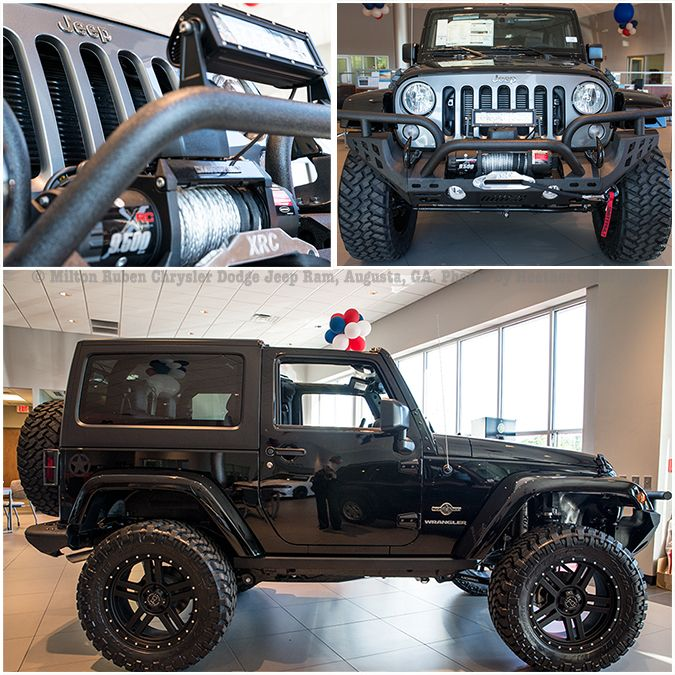 Build Your Own Jeep Customize Your Wrangler With Winches Tires