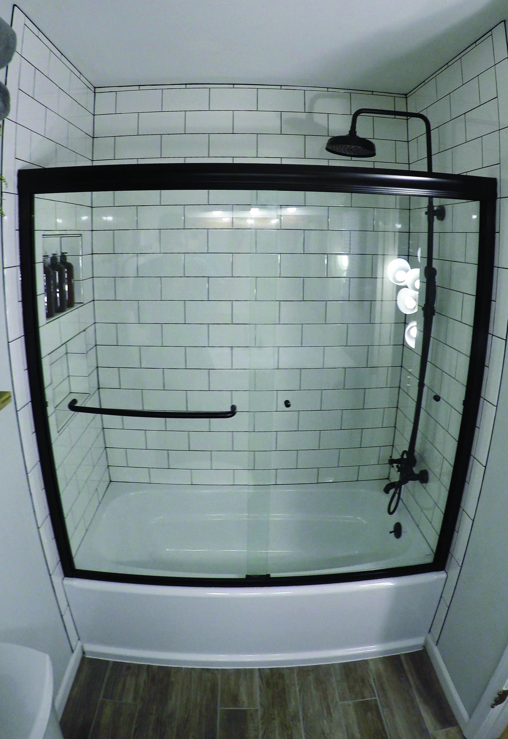 New Ways To Make Use Of Learn Flooring Ceramic Tile In Your Shower Room Dova Home Bathroom Tile Renovation Bathrooms Remodel Bathroom Renos