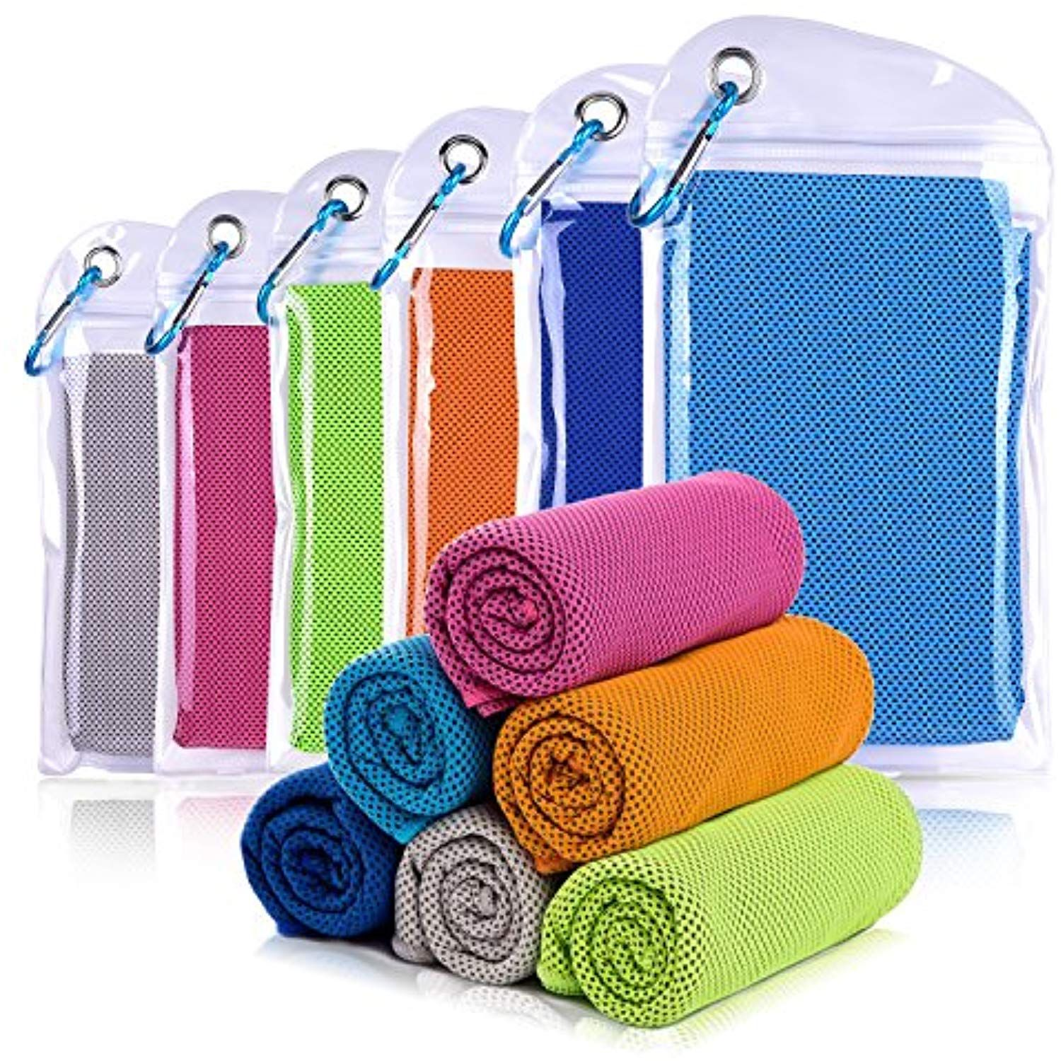 Willceal Cooling Towel Cool Towel For Instant Cooling Reliefi œ40