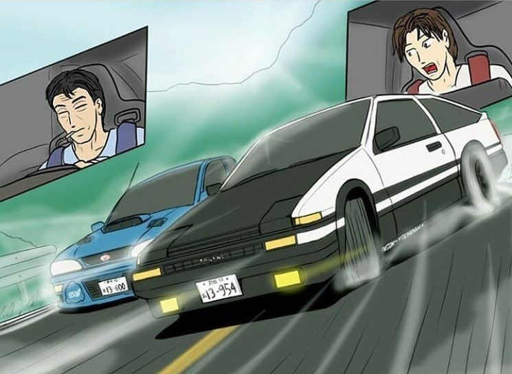 Initial d on instagram dad and son ours_974 initiald