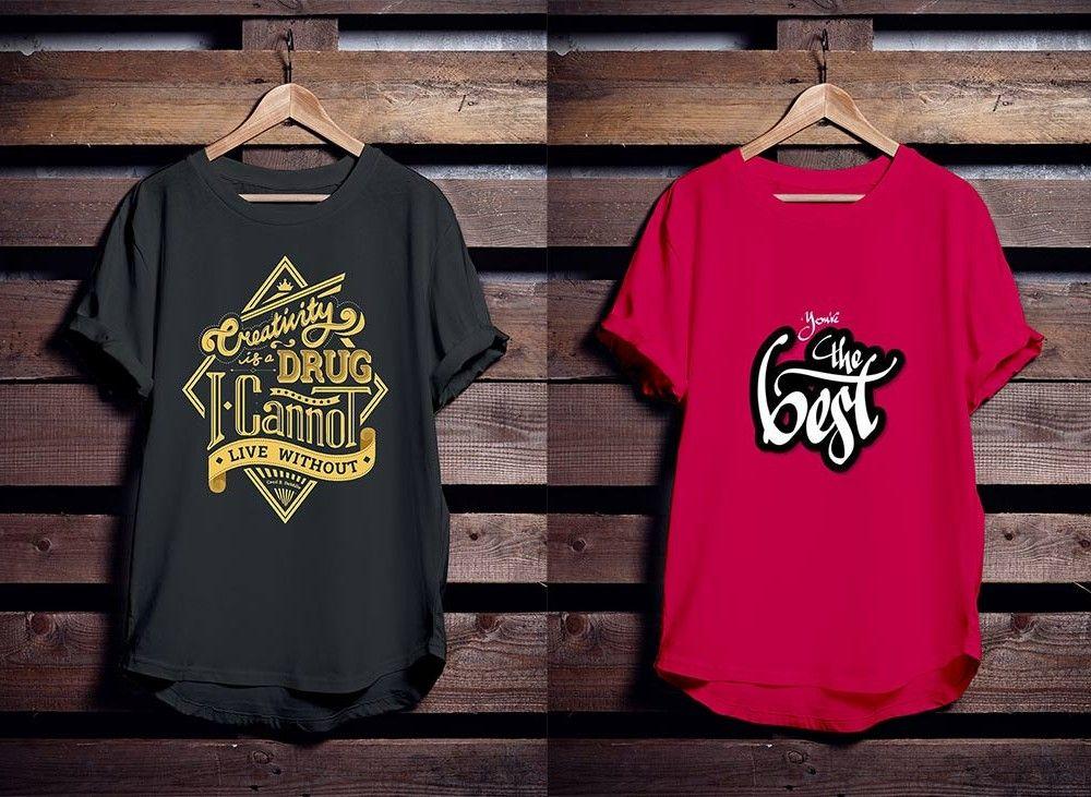 Download Free T Shirt Mockup Hanger Shirt Mockup Tshirt Mockup Shirt Designs