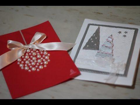 Tarjeta de Navidad Pop-up facil y Bonito - Como hacer Tarjeta de