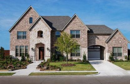 New Home Builders In Ridgeview At Panther Creek Frisco Texas