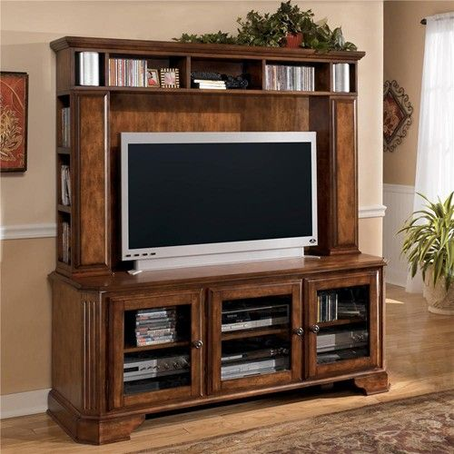 Wyatt Entertainment Tv Stand Amp Hutch Unit By Signature