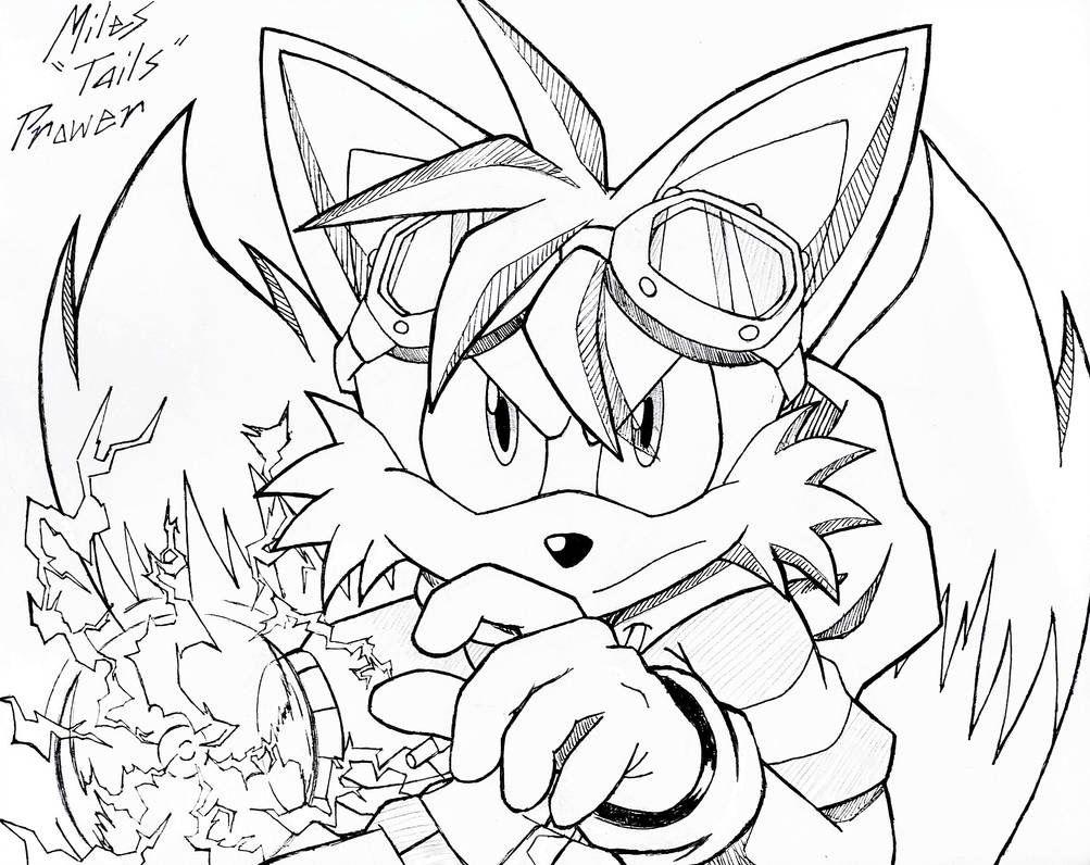 Pin By Sergo On Tails Prower Sonic Fan Art Fox Art Sonic