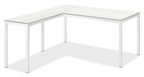 Pratt L-Shaped Desks - Desks - Office - Room & Board