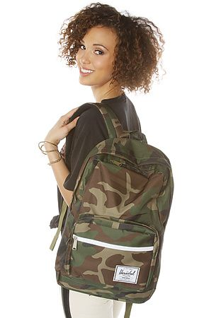 The Pop Quiz Backpack In Camouflage by HERSCHEL SUPPLY  affbb8bb5a1cf