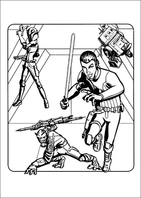 Star Wars Rebels Coloring Pages 2