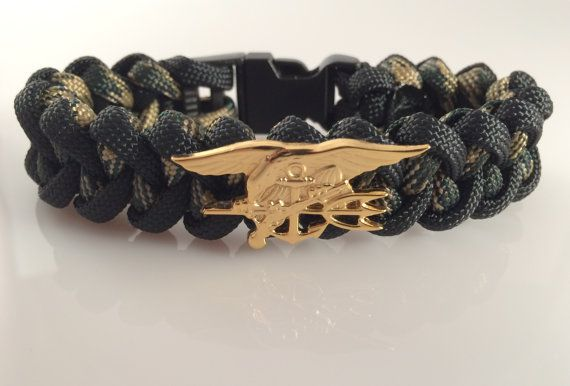 U S Navy Seal Paracord Bracelet Free Shipping By Paracordlinks