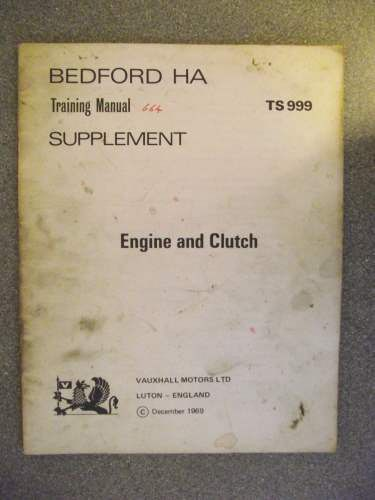 bedford ha training manual supplement 1969 ts999 listing in the rh pinterest com General Motors Germany Opel Vauxhall Manufactured by Opel Vauxhall