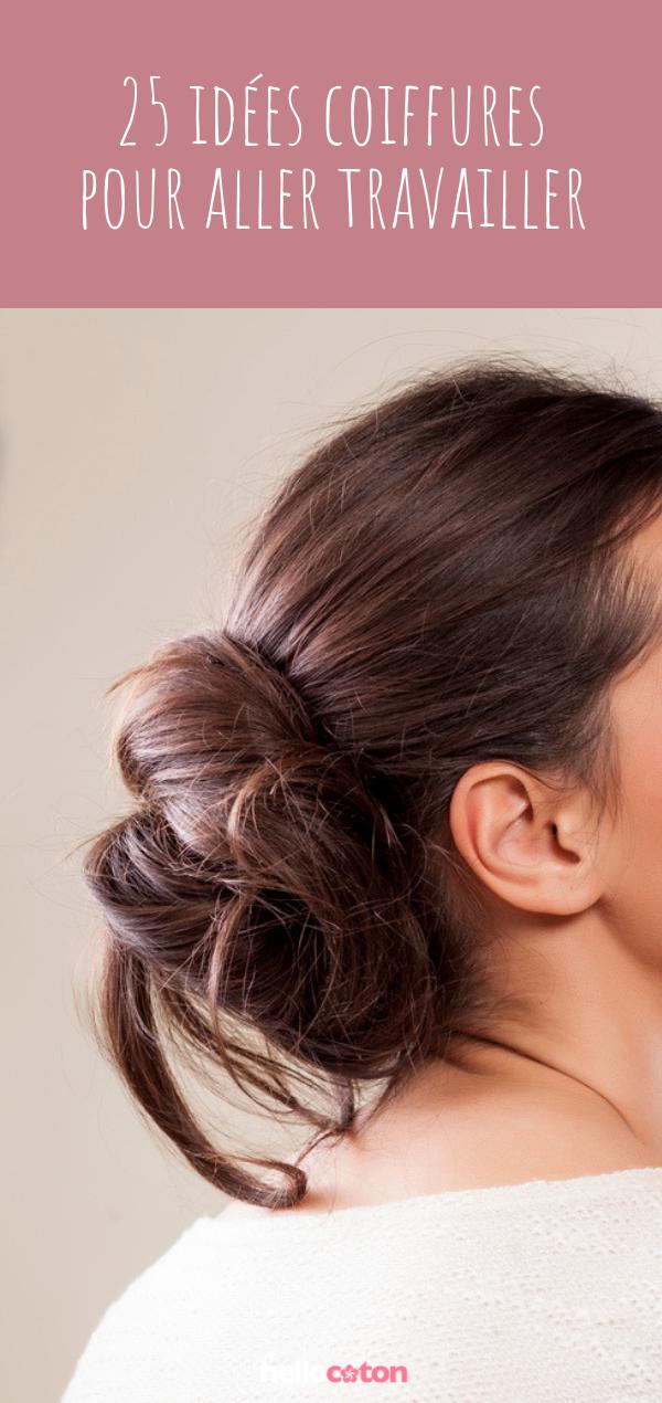 20 idées de coiffures pour aller travailler